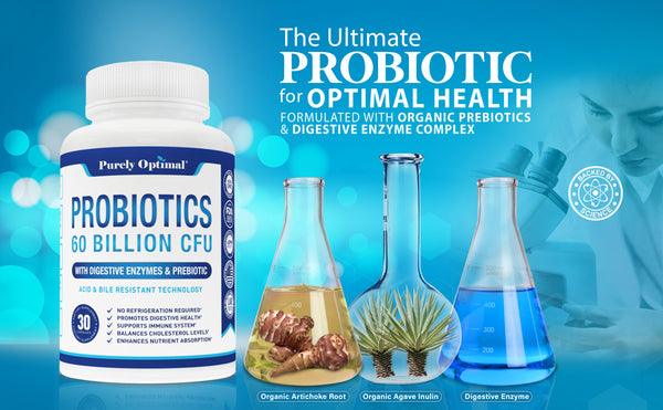 Purely Optimal Probiotics supplement