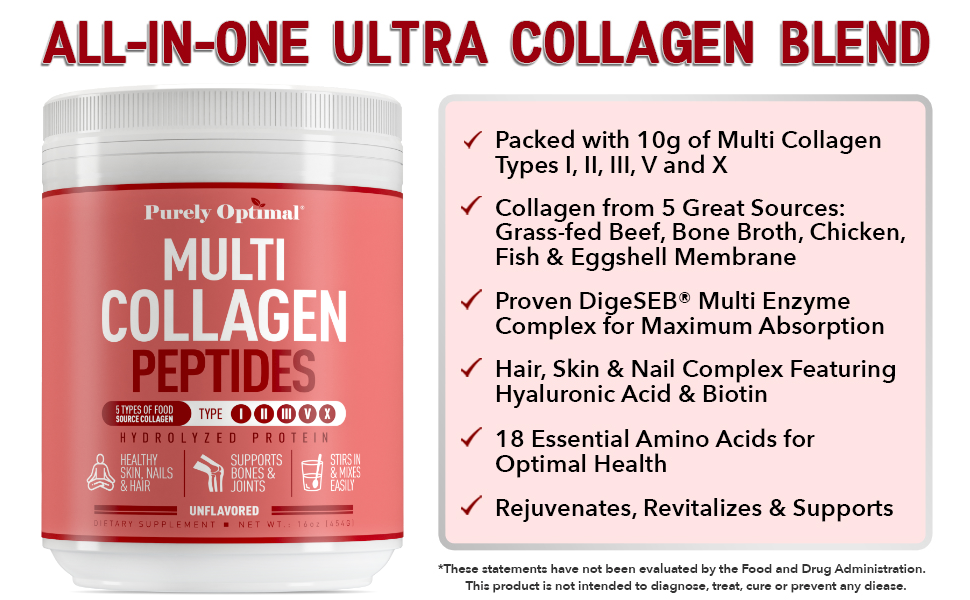 multi collagen powder benefits