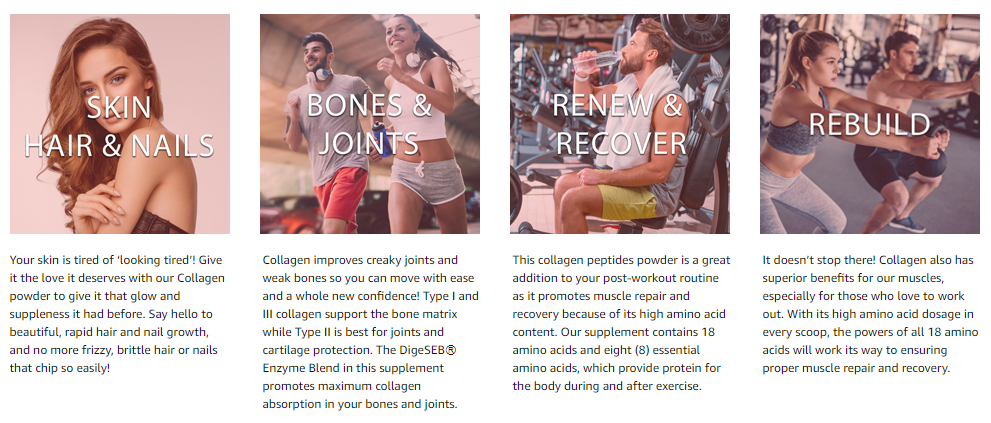 multi collagen powder main benefits