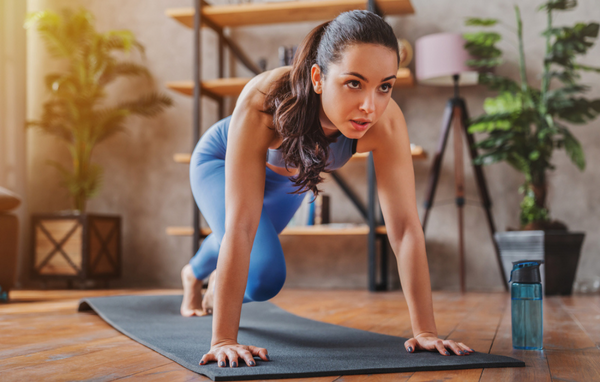 exercise and collagen supplement