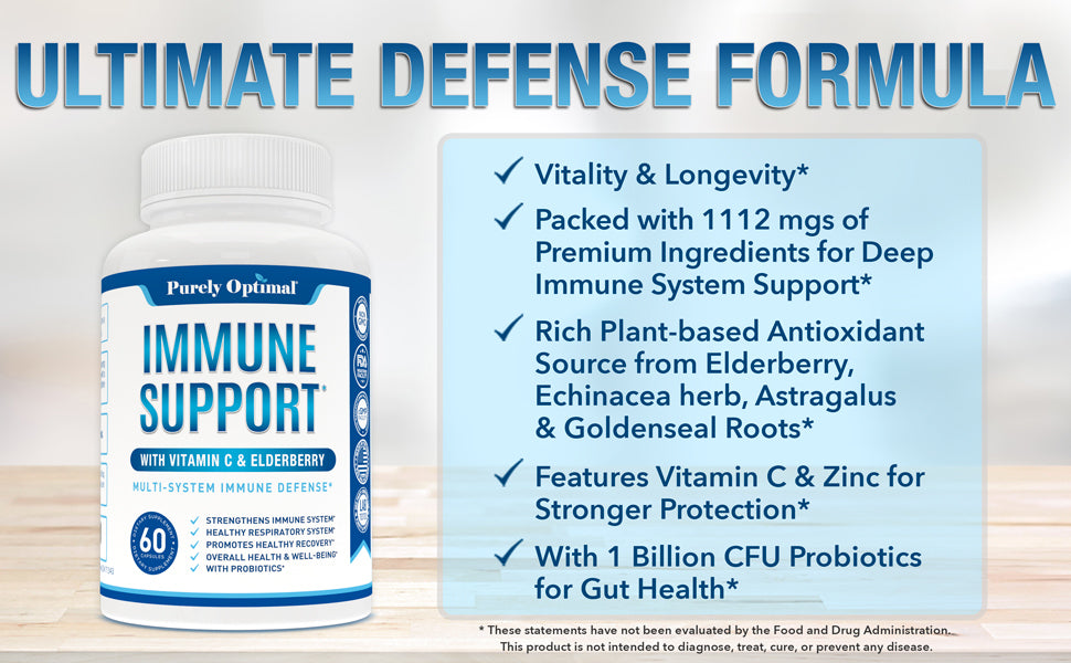 immune support supplement benefits