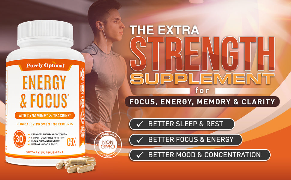 purely optimal energy & focus supplement