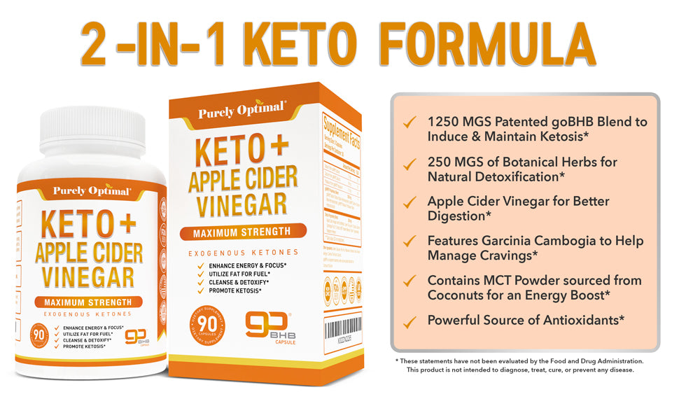purely optimal keto acv benefits