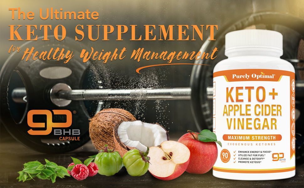 purely optimal keto apple cider vinegar