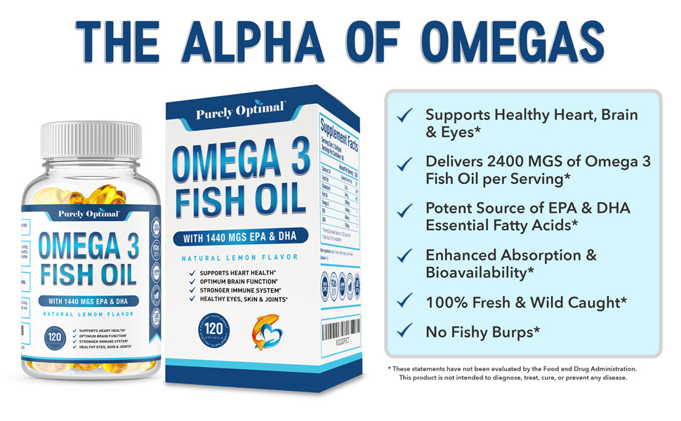 purely optimal omega 3 benefits