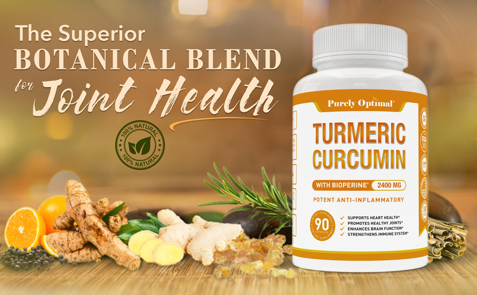 purely optimal turmeric supplement