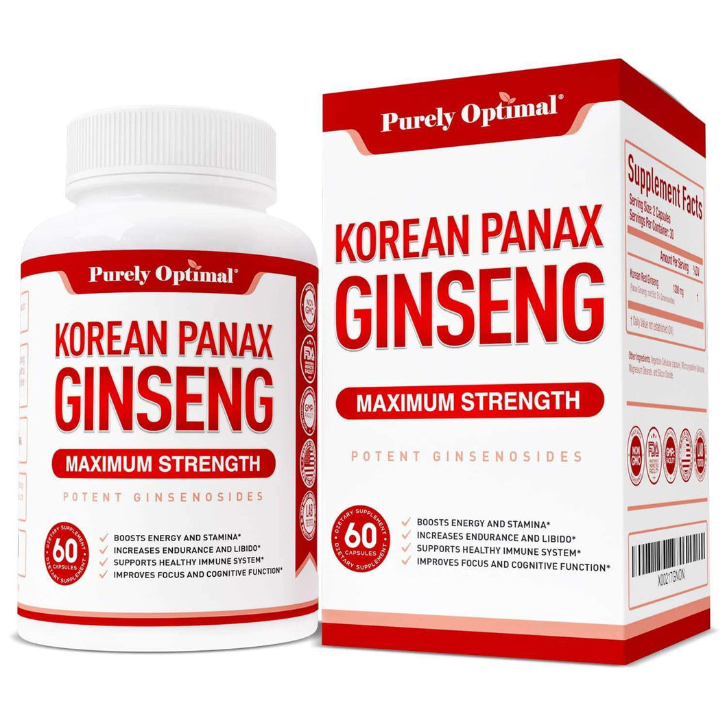 Korean Panax Ginseng Supplements