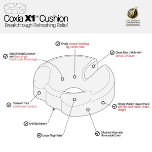 Coxia X1 Lumbar Support Seat Cushion
