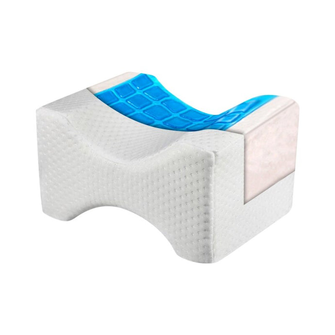 Orthopedic Memory Foam Knee Pillow With Cooling Gel