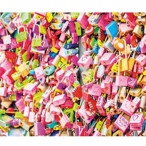 1,000 Pieces Locks of Love Puzzle