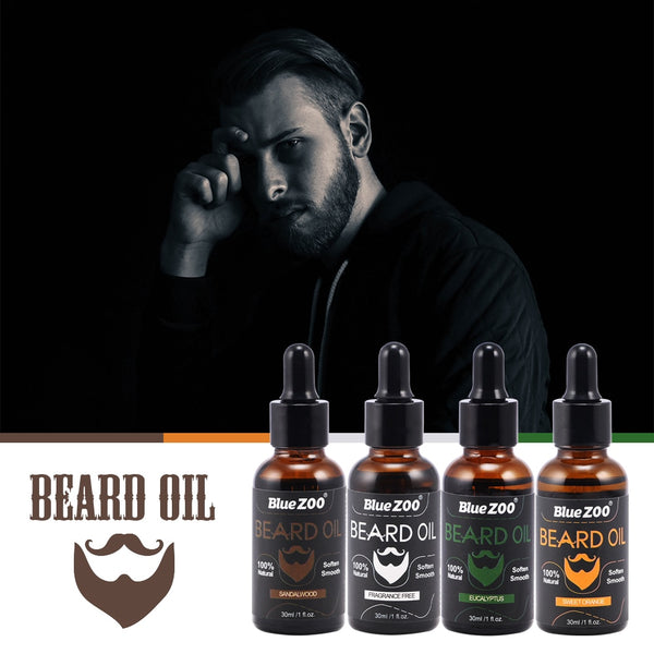 Men's Beard & Mustache Oil