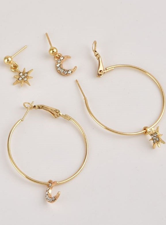 THE STELLA EARRING SET