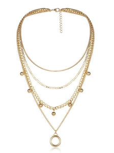 THE AGATHA CHAIN NECKLACE SET