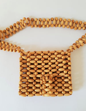 BEADED CROSS-BODY BAG