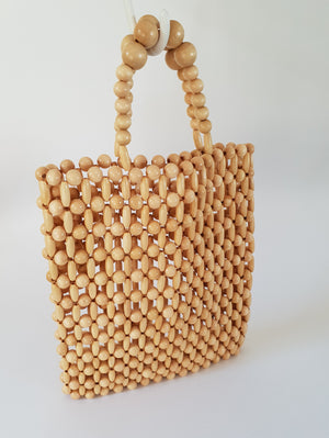 EXTRA-LARGE BEADED BAG