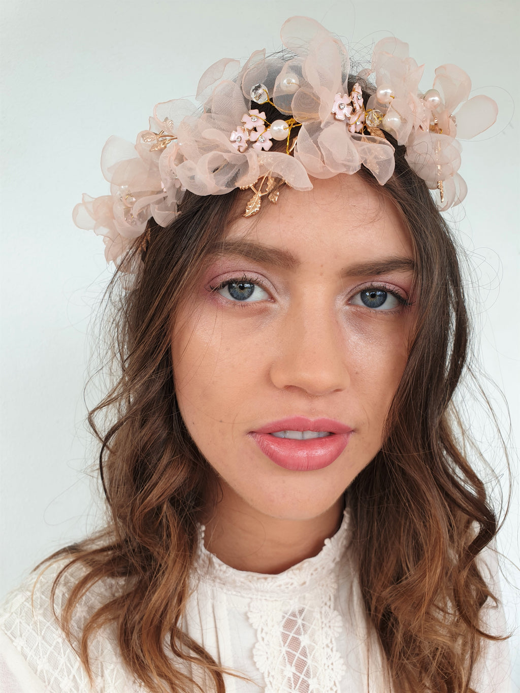 THE MADDISON SOFT FLORAL HAIRPIECE