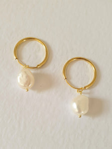 THE ROSALIND FRESH-WATER PEARL EARRINGS