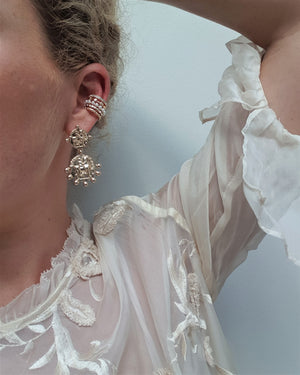 THE VALERIA COIN EARRINGS
