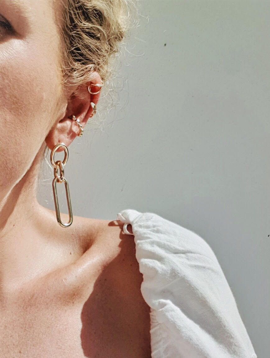 THE LUCIA CHAIN EARRINGS