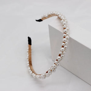 THE KRISTIN PEARL HAIR BAND SET