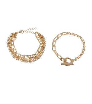 THE DARCY STACK BRACELET SET