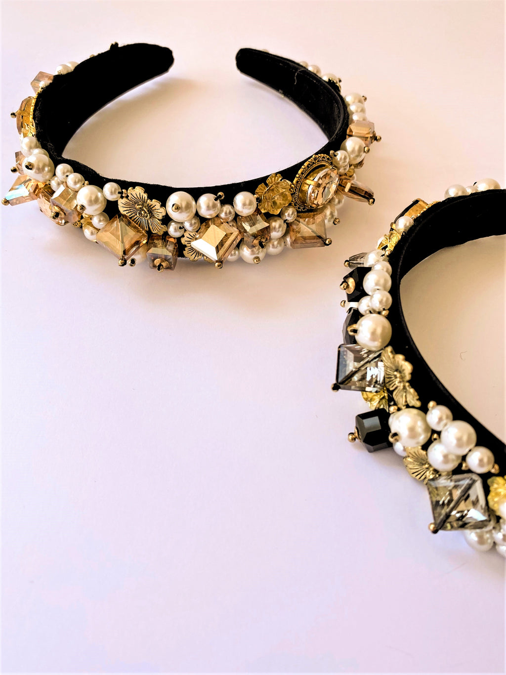 THE OTT PEARL AND STONE ENCRUSTED BANDS
