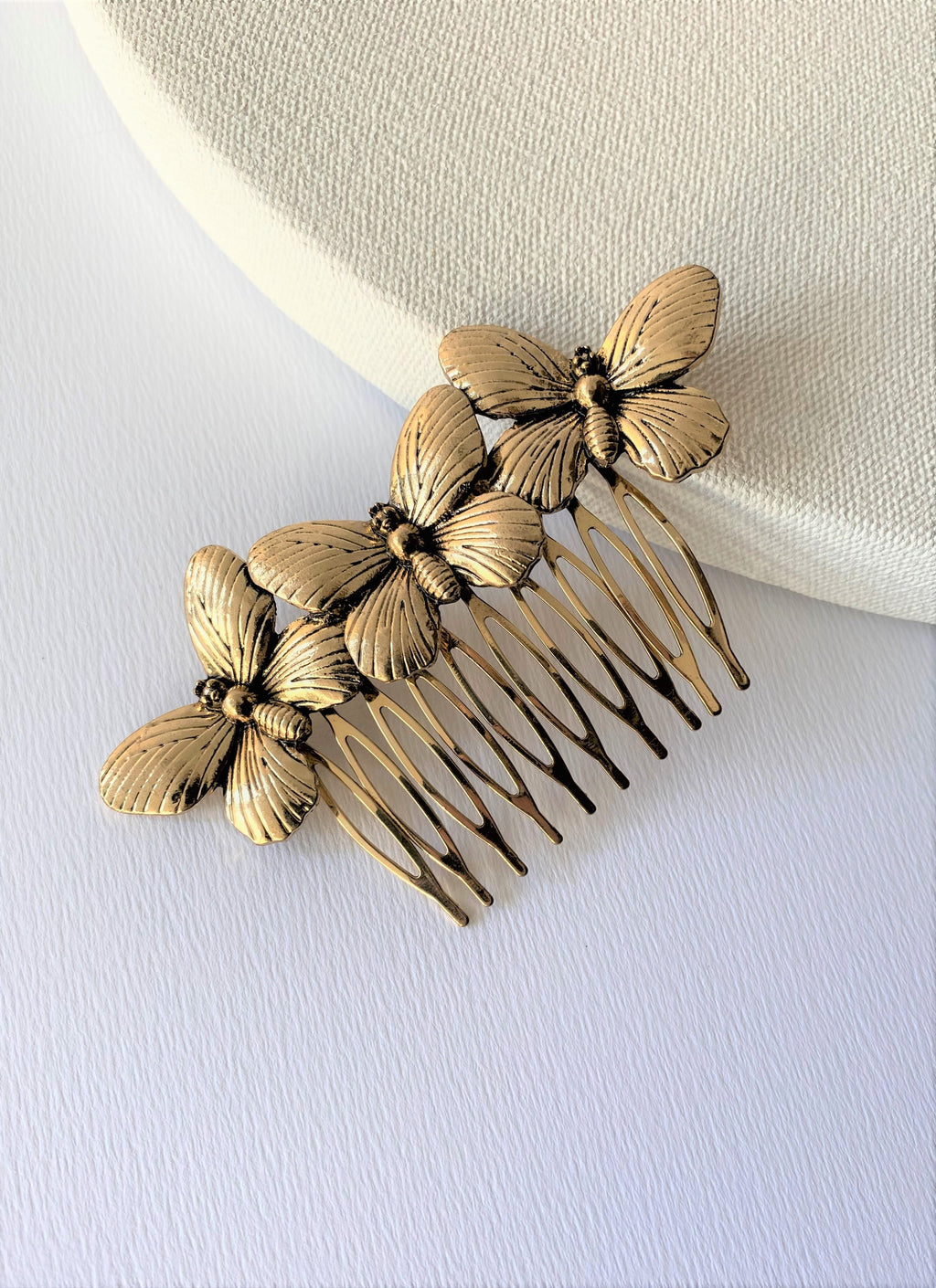 THE FANTASIA BUTTERFLY HAIR COMB
