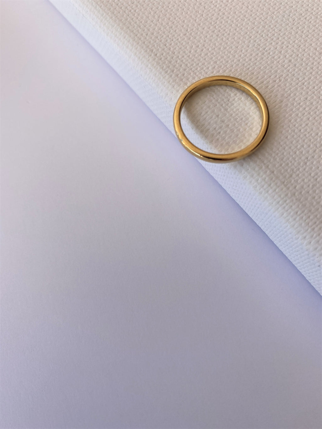 GOLD-PLATED BAND (2mm)