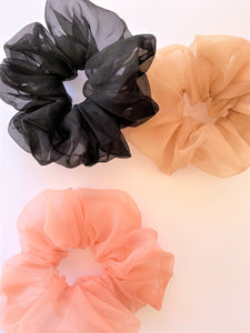 THE ESSIE ORGANZA SUPER SCRUNCHIES - SET OF 3