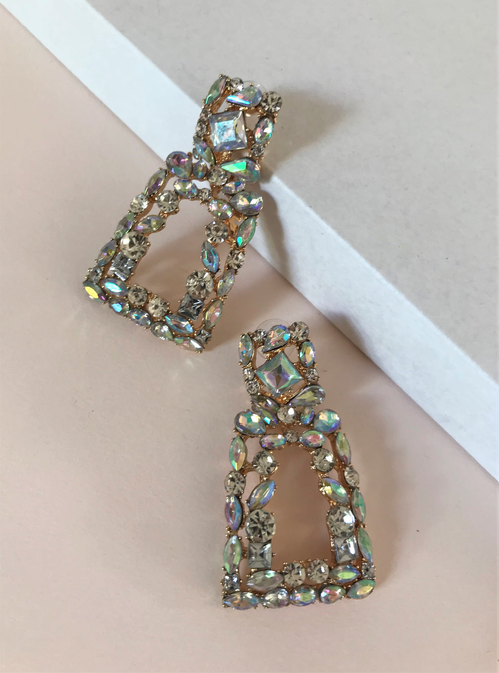 THE OCEANA EARRINGS - AQUA