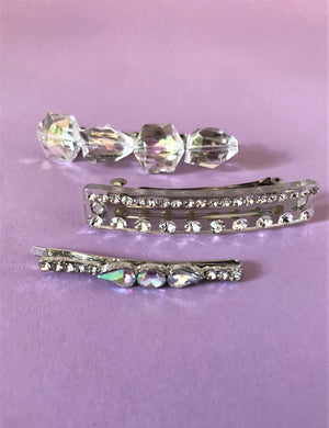 THE CRETE CRYSTAL CLIP SET