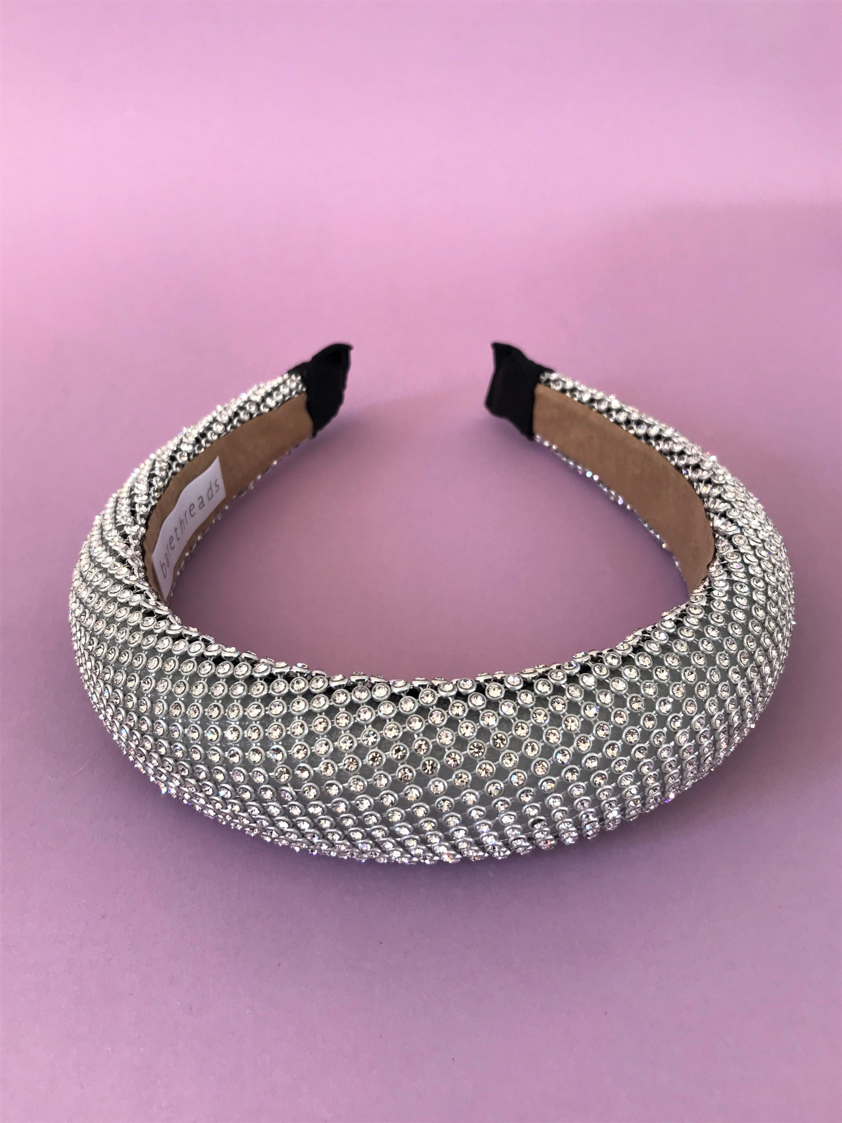 THE APHRODITE PADDED BAND - SILVER