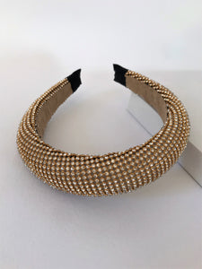 THE APHRODITE PADDED BAND - BRONZE