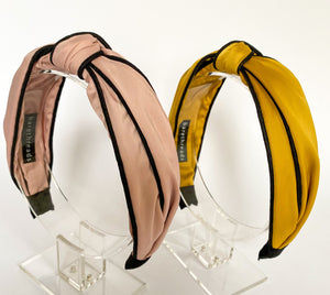 THE CARLI SATIN KNOTTED BANDS