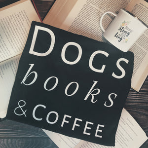 Dogs/Cats, Books, Coffee (S-2XL)