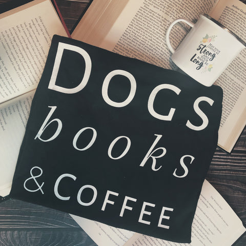 Dogs/Cats, Books, Coffee (4-16)