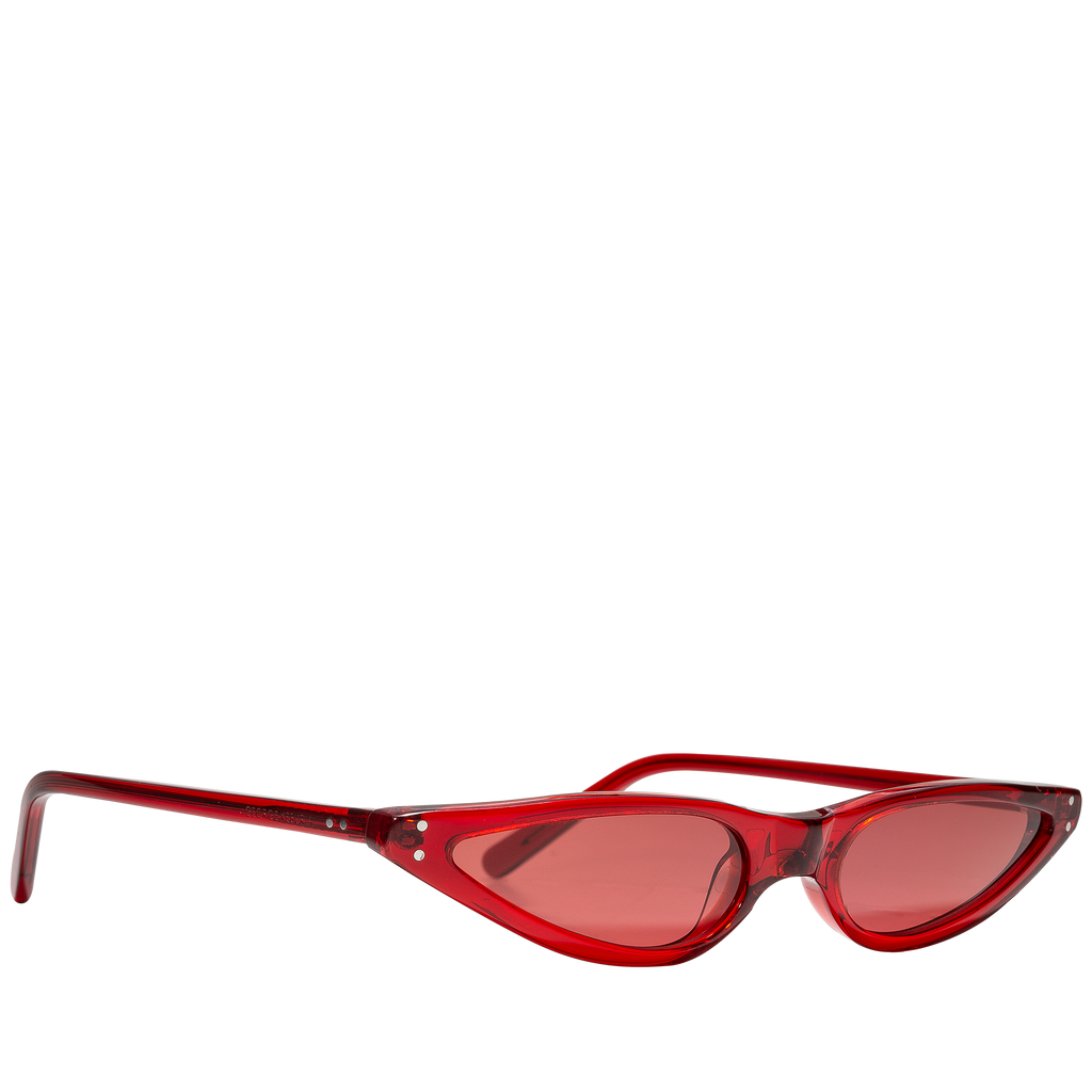 885f7d16bf Scarlet Red Cat-Eye Sunglasses – L Oeuvre