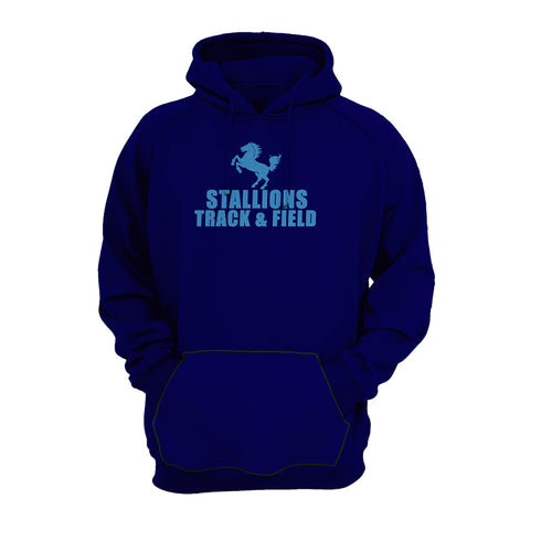 Stallion Track & Field Navy Blue Hoodie