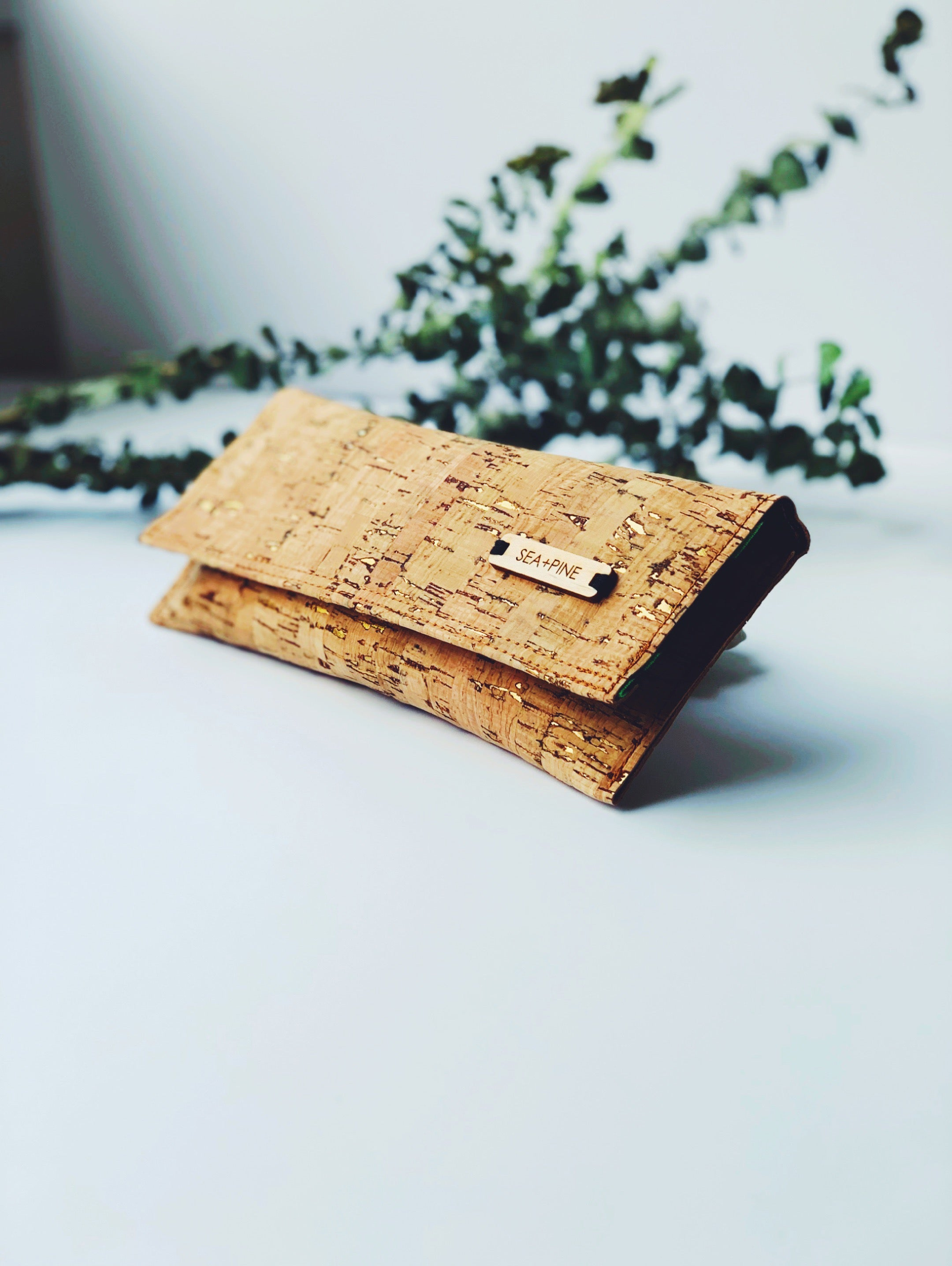 Palm Cork Wallet