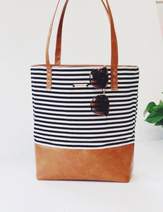 Custom Signature Tote for KS (Denim blue)
