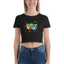 Load image into Gallery viewer, onlt you Women's Crop Tee / happy halloween / halloween