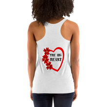 Load image into Gallery viewer, Big heart Next Level 6733 Ladies' Triblend Racerback Tank
