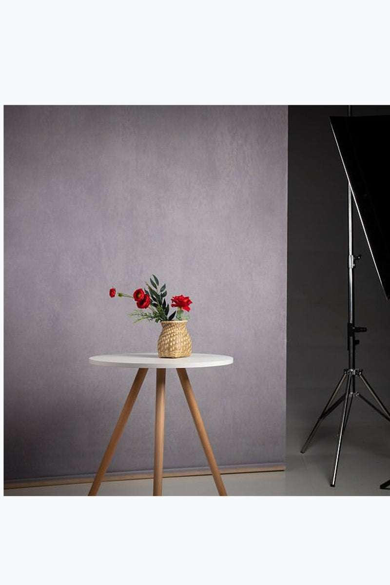 RTS-Clotstudio 5x7 ft & 8x12 ft Abstract Gray Purple Spray Textured Hand Painted Canvas Backdrop #clot 63-Low texture-CLOT STUDIO-custom hand painted canvas studio photo backdrops handmade photography backgrounds