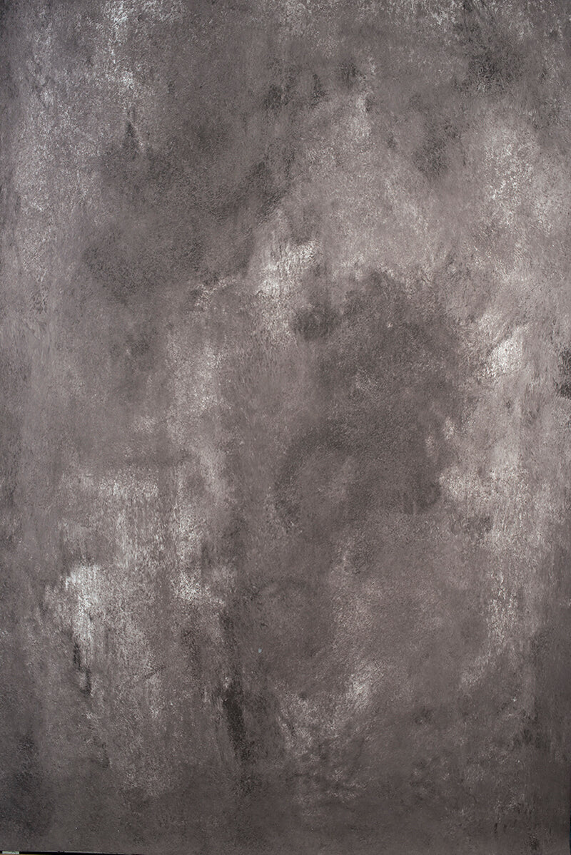Clotstudio Abstract Warm Grey Mid Textured Hand Painted Canvas Backdrop #clot 101