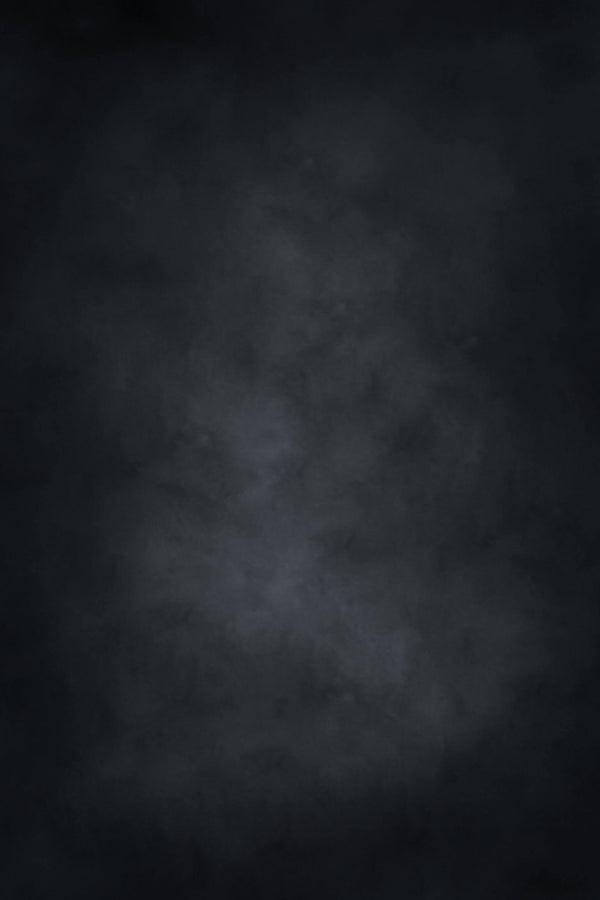 Clotstudio Abstract Black Mid Textured Hand Painted Canvas Backdrop #clot 118-Mid Texture-CLOT STUDIO