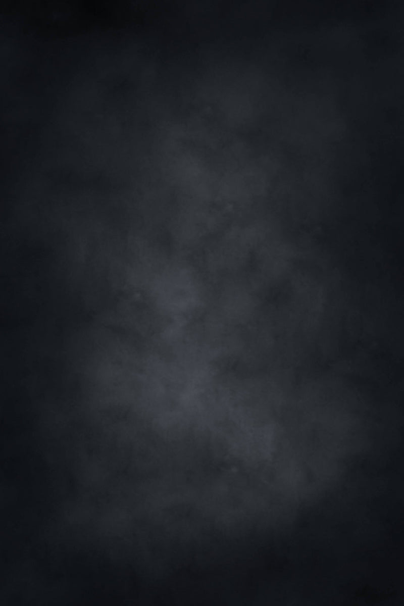 Clotstudio Abstract Black Mid Textured Hand Painted Canvas Backdrop #clot 118
