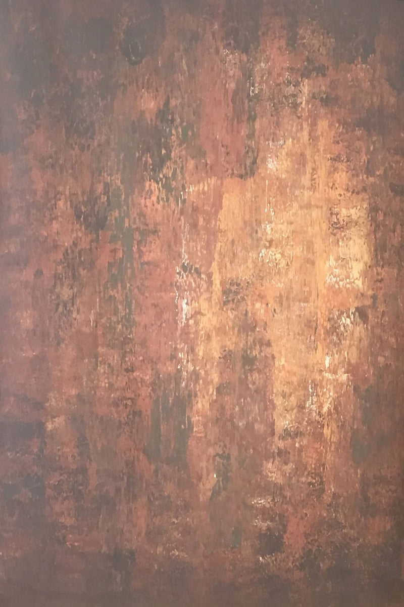RTS-Clotstudio 7X9 ft Abstract Dark Red Little Orange Texture Hand Painted Canvas Backdrop #clot 11-Strong Textured-CLOT STUDIO-custom hand painted canvas studio photo backdrops handmade photography backgrounds
