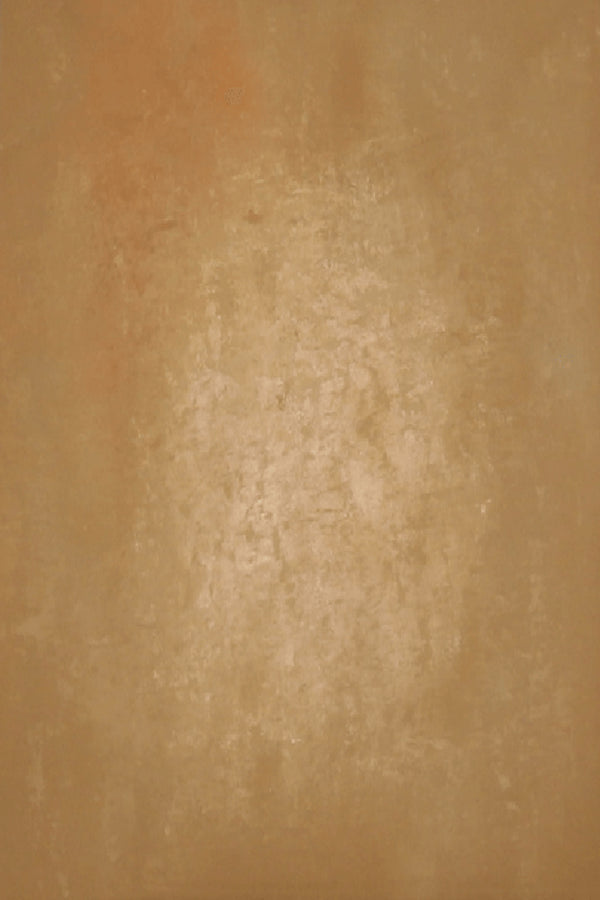 Clotstudio Abstract Dark Moderate Orange Texture Hand Painted Canvas Backdrop #clot 143-Low texture