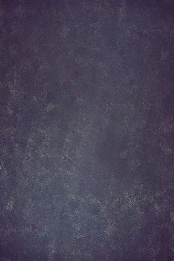 Clotstudio Abstract Purple with Blue Textured Hand Painted Canvas Backdrop #clot145-Mid Texture