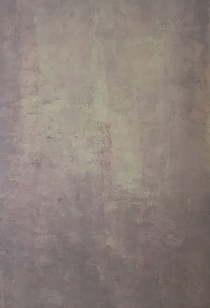 Abstract Dark Rosy Brown Beige Texture Hand Painted Canvas # clot14